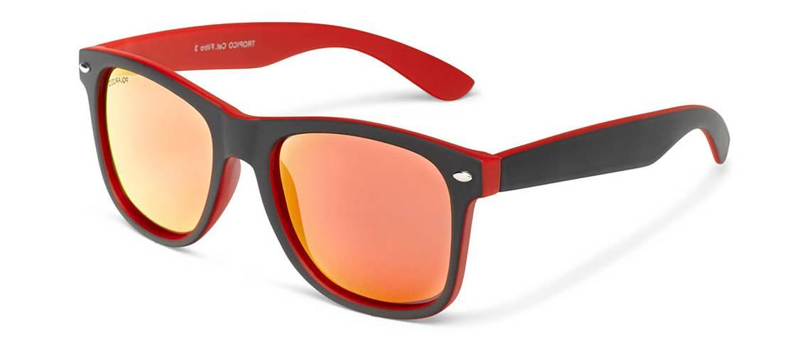 Gafas de sol polarizadas hombre mujer Lech Roja fluor