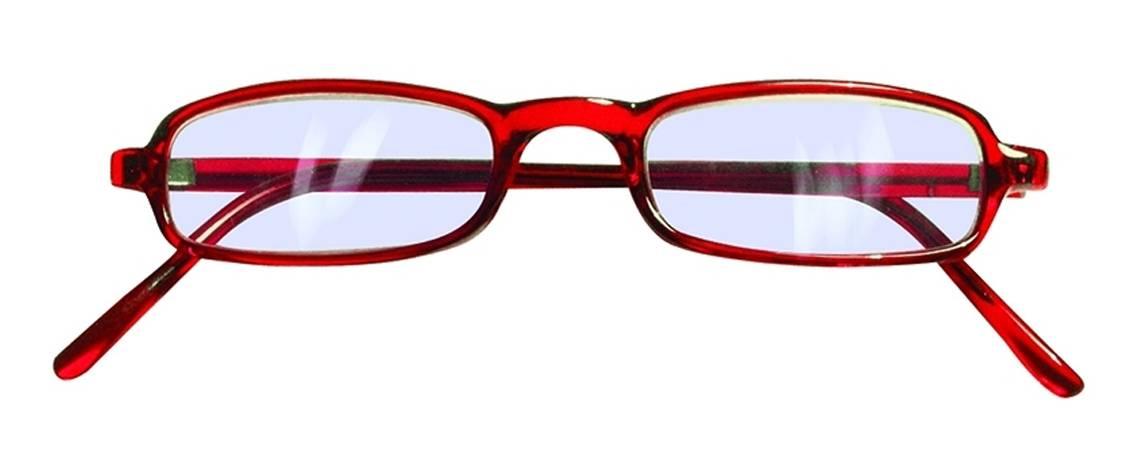 Gafas de lectura hombre mujer Bremen Roja