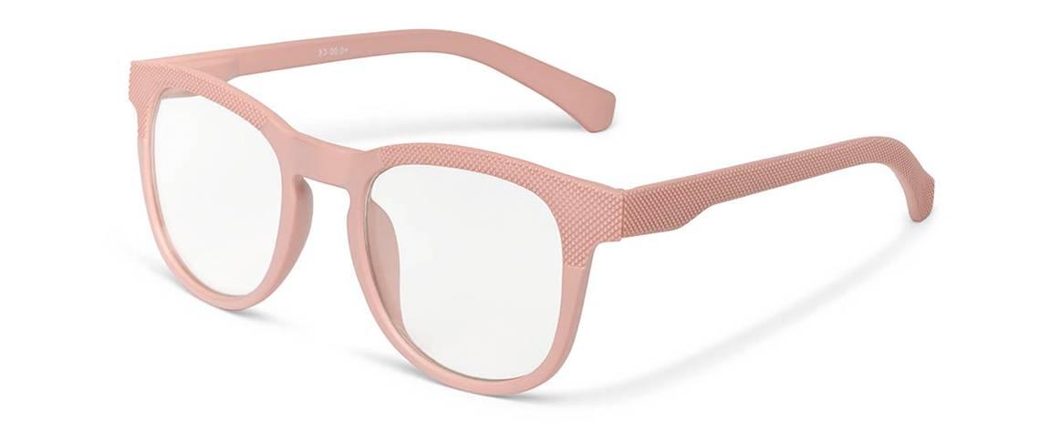 Gafas de lectura mujer Praga rosa palo
